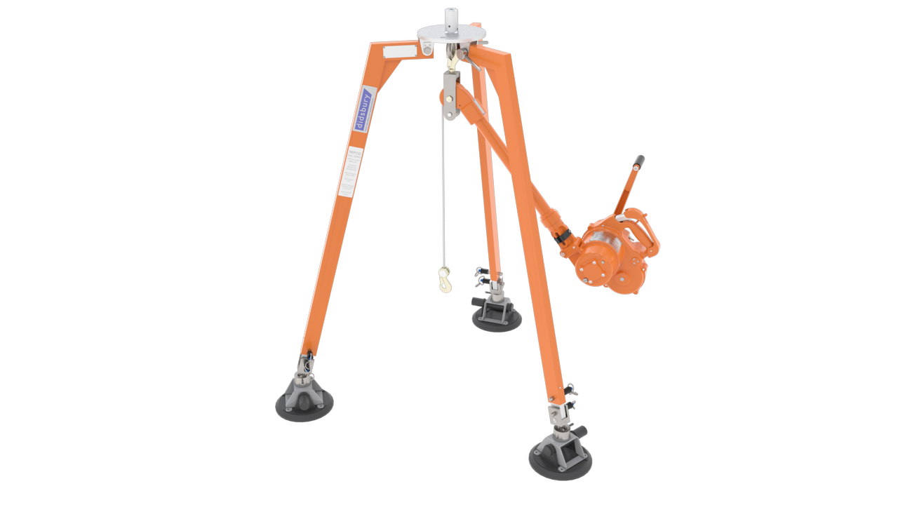 Tripod with Hoist
